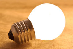 Bright bulb, inspiration, ideas Stock Image
