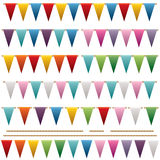Bright bunting Stock Photo