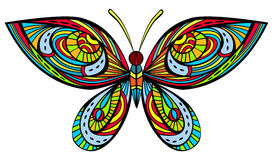 Bright butterfly Stock Photography
