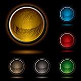 bright button scribble Απεικόνιση αποθεμάτων