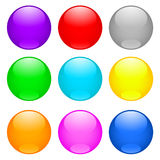 Bright buttons Royalty Free Stock Images