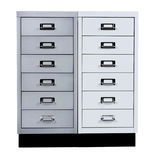 Bright cabinet from drawers Royalty Free Stock Images