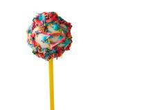 Bright cake lollipop. Stock Photos