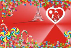 Free Bright Candy On Red Background Royalty Free Stock Photo - 69024545