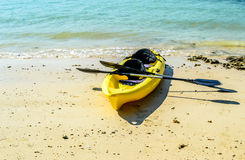 Bright Canoes Stock Images