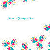 Bright card. Abstract colorful vector illustration Stock Photo