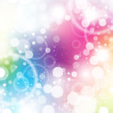 Bright Celebration Background. A bright and colorful rainbow celebrate celebration background Stock Photography