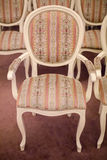 Bright chairs in the art Nouveau style Royalty Free Stock Images