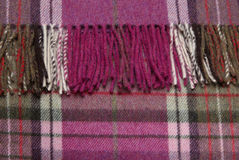 Bright checked plaid Royalty Free Stock Photography