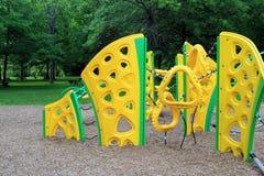 Bright and cheerful playground equipment Royalty Free Stock Image