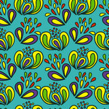 Bright, cheerful seamless pattern. Vector illustration/ EPS 8 Royalty Free Stock Photography