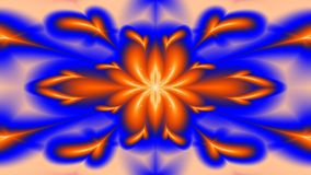 Bright and cheerful, widescreen. Widescreen bright red and blue kaleidoscope Stock Photography