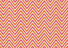 Free Bright Chevron Red, Orange And White Pattern Stock Photography - 22237162