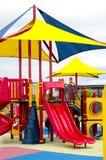 Bright child's playground Royalty Free Stock Image