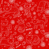 Bright children pattern Stock Image