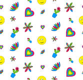 Bright children pattern Stock Photo