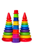 Bright children plastic toys Royalty Free Stock Photo