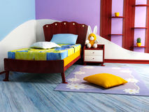 A  bright children room Stock Photos