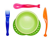 Bright children's ware Stock Photos