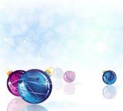 Bright Christmas background Stock Photos