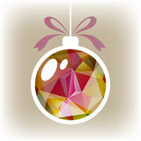 Bright christmas ball Royalty Free Stock Photography