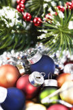 Bright christmas composition Stock Photography