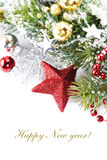 Bright christmas composition Royalty Free Stock Photography
