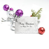 Bright christmas composition Stock Image