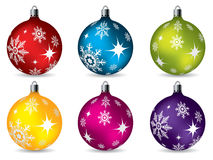 Bright christmas decorations Royalty Free Stock Photography
