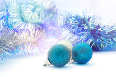 Bright Christmas decorations Royalty Free Stock Image