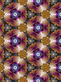 Bright Christmas Kaleidoscope Royalty Free Stock Images