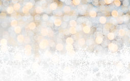 Bright Christmas lights blur Stock Photos