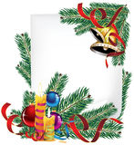 Bright Christmas poster Royalty Free Stock Photography
