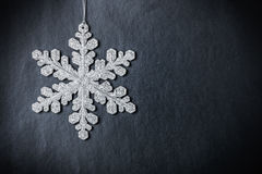 Bright Christmas snowflake Royalty Free Stock Photos