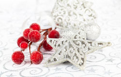 Bright christmas star Stock Photo