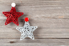 Bright christmas stars Stock Photo