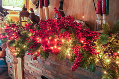 Bright Christmas still life. Stock Image