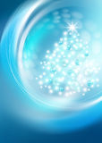 Bright Christmas tree Royalty Free Stock Photo