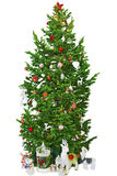 Bright Christmas tree Royalty Free Stock Photos