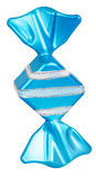 Bright Christmas tree toy blue candy Stock Photo