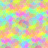 Bright circle mosaic tiles background Royalty Free Stock Photo