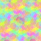 Bright circle mosaic tiles background Royalty Free Stock Photo