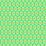 Bright Circles Abstract Pattern on Green Royalty Free Stock Photography