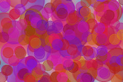 Bright circles as a background Royalty Free Stock Image