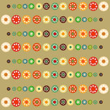 Bright circles baby background. Abstract background vector illustration royalty free illustration