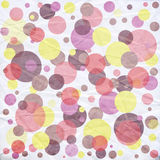 Bright  Circles Background Stock Images