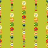 Bright circles seamless baby background. Abstract seamless background vector illustration royalty free illustration