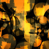 Bright circles seamless pattern. Vector. Bright circles seamless pattern. Colorful background. Vector illustration Stock Photo
