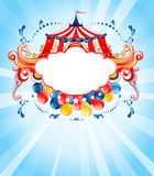 Bright circus background Stock Photo