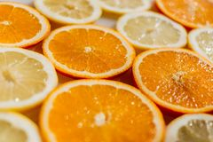Bright, Citrus, Close-up Royalty Free Stock Images